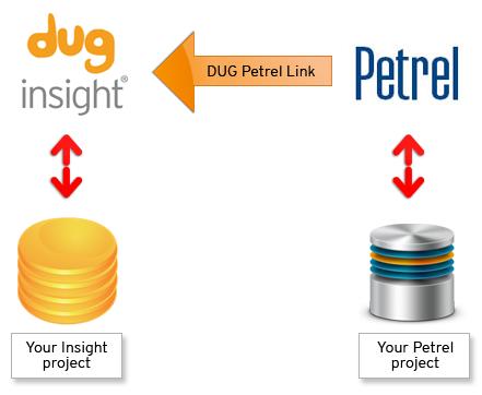 DUG Insight: Seismic Interpretation Software | Modules | Petrel Link